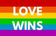 Love Wins - Rainbow