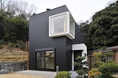 Now that's a creative, interesting home facade! 外観 : by 若山建築設計事務所