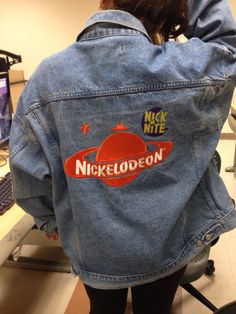 nickelodeon, jacket, and jeans image Fashion Killa, 90s Fashion, Womens Fashion, Fashion Trends, Estilo Rock, All Jeans, Mein Style, 90s Outfit, Estilo Retro