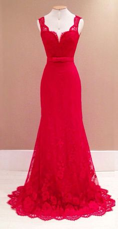 Elegantes Damen Kleid Abendkleid in Rot (Diy Clothes 2017)