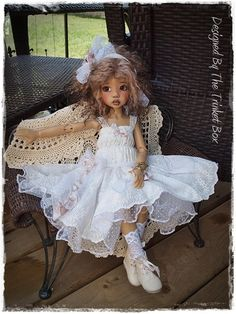 Vintage Re-Make Summer Dreams 7 PC OOAK For Kaye Wiggs MSD BJD - Hope , Layla