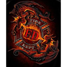 Dragon Fear No Evil T-shirt | Firefighter Apparel | Firefighter.com