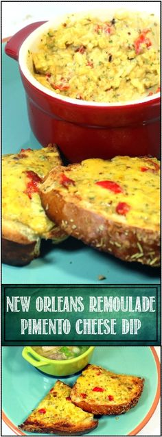 Inspired By eRecipeCards: Pimento Cheese Dip and SPREAD, New Orleans Remoulade Style For Mardi Gras