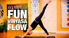 60 Min Fun Vinyasa Flow Yoga Class - Five Parks Yoga
