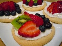 Fruit Pizza in Cookie form