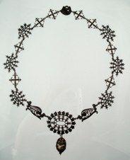 Berlin Iron necklace Siméon Pierre Devaranne Circa 1830s-1840s