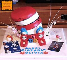 Cat in the hat Cake ~All Edible~