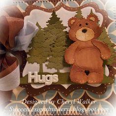 Cottage Cutz Mr.Snuggles bear