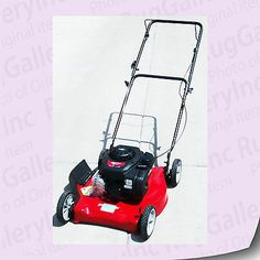 "Murray Lawn Mower 20"" Gas Engine Briggs Stratton Walk-Behind 961140030 M20300"