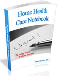 Aging Home Health Care Store - Health Care Notebook, $14.97 (http://store.aginghomehealthcare.com/health-care-notebook/)