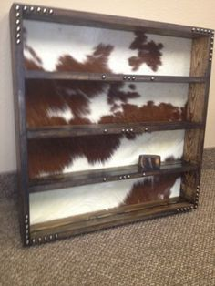 LARGE PLAIN & SIMPLE WALL HUNG RODEO BUCKLE TROPHY DISPLAY | Western Decor by Signature Cowboy