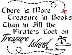 disney+quotes+pirates | Reading/Books Wall Quotes