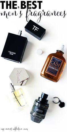 The Best Men's Fragrances featuring Tom Ford Noir, YSL L'Homme, Viktor & Rolf Spicebomb and L'Occitane Cade www.mynewestaddiction.com