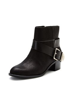 Romeo Buckle Ankle Boot