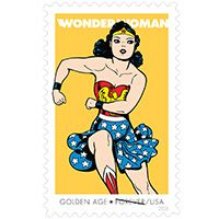 Wonder Woman - USPS stamp, available their website!