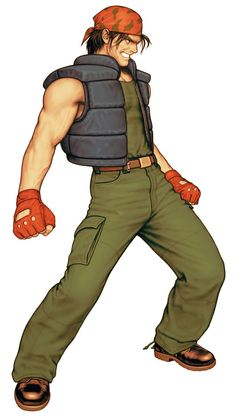 Ralf Jones from King of Fighters 2000