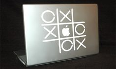 """31 Cool Things To Do With The Apple Logo On Your Mac"" …and it's as simple as buying a decal. Yay"