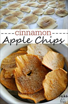 This apple chips recipe is the best we have ever tried. The kids loved them. What a great snack recipe! This is a perfect way to use leftover apples.