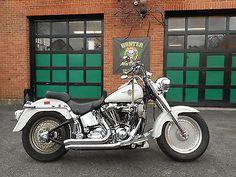 motorcycles-scooters: Harley-Davidson: Softail 2000 harley davidson flstf fatboy…