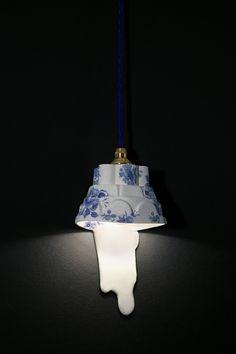 Light Spull - Blue Delft