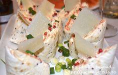 Rulouri umplute cu brânză și pește Starters, Special Occasion, Appetizers, Lunch, Cheese, Meals, Meal, Appetizer, Eat Lunch