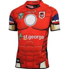 St george - iron man-  #marvel #super hero #jersey - isc,  View more on the LINK: http://www.zeppy.io/product/gb/2/321912567417/