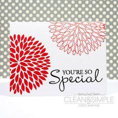 A Peek Inside The Creative Corner: Fabulous Clean & Simple Cards by Soni Larson