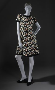 Dress Yves Saint Laurent, 1967 The Los Angeles County Museum of Art