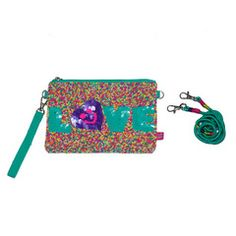 Love Beaded Bag #LittleMissMatched #clutch