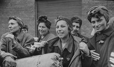 Stromberg, Germany March 1945 Hungarian Jewish women are happy and smiling… Women In History, World History, Bergen, Dramatic Photos, Magnum, Holocaust Survivors, World War Two, Wwii, Germany