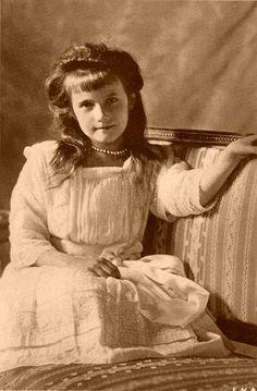 ロシア皇女アナスタシア