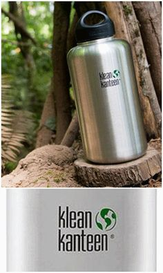 KleanKanteen 64oz Wide Mouth  A mammoth, half gallon bottle for transporting and storing water and other drinks. Think of it as a filling station that's easy to handle and pour from. On river trips, a sailboat, an all-day picnic or even car camping, use your 64oz Wide instead of dealing with big, unwieldy plastic jugs.  Available here - http://www.alphabushcraft.co.uk/64ozwidemouth.html
