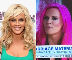 While on the 'TODAY' show on July 14 with Kathie Lee and Hoda, Jenny revealed a shocking makeover — bright pink hair! Do you love or loathe her new look? CLICK TO SEE her dramatic new 'do and vote below! Thoughts on this hairstyle?