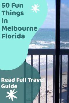 Melbourne Beach Florida, Visit Melbourne, Florida Usa, Florida Travel, Florida Beaches, Things To Do Today, Fun Things, Usa Travel Guide, Travel Usa