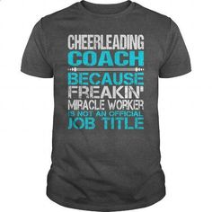 Awesome Tee For  Cheerleading Coach #teeshirt #hoodie. BUY NOW => https://www.sunfrog.com/LifeStyle/Awesome-Tee-For-Cheerleading-Coach-115258827-Dark-Grey-Guys.html?id=60505