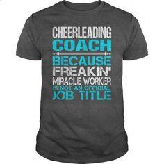 Awesome Tee For Cheerleading Coach #teeshirt #hoodie. BUY NOW => https://www.sunfrog.com/LifeStyle/Awesome-Tee-For-Cheerleading-Coach-115258827-Dark-Grey-Guys.html?id=60505