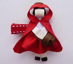 Red Riding Hood Hair Pin