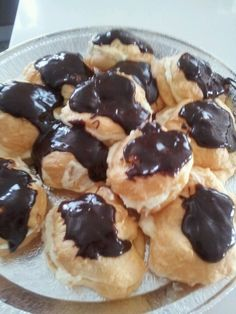 Just made these profiteroles
