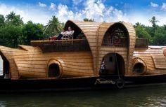 House boats in Kerala #honeymoon #kerala