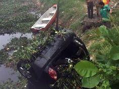 Jornal Municipal: Motorista perde o controle na Epítácio e cai no Ri...