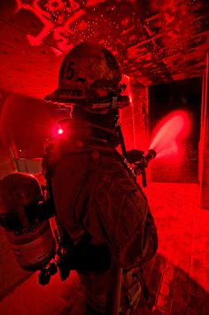 Firefighter by Matthew Strauss.