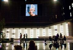 View of Sergio Albiac's Content is Queen at the Big Screen Plaza. 10.25.11