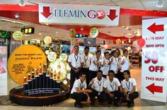 The team that has made it all happen in the last 3 years — at Bandaranaike International Airport.