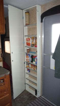 travel trailer storage Ideas is part of Rv Space Saving Ideas For Ultimate Rv Organization - Clever Travel Trailer Organization Rv Storage Ideas 36