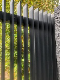 Head to our online site for a lot more involving this incredible vinyl fence Front Gates, Front Fence, Fence Gate, Entrance Gates, Fences, Front Gate Design, House Gate Design, Railing Design, Slatted Fence Panels