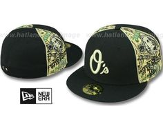 Baltimore Orioles 'SHOWMEDA$' 59Fifty Fitted Baseball Cap by NEW ERA x MLB