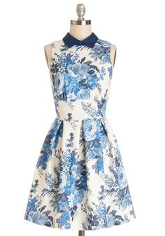 Delightful Day Out Dress #modcloth #ad *love that tummy tucking mid-section