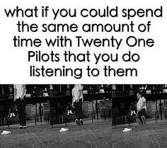 Oh my lanta.  Twenty one pilots Tyler Joseph Josh fun power to the local dreamer skeleton clique