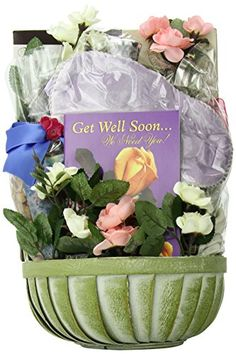 Gift Basket Village Get Well Soon Gift Basket for Women -- Read more info by clicking the link on the image.