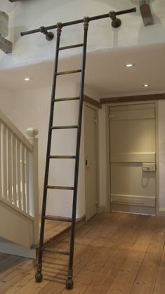 Image result for sliding ladder diy  Rope bridge